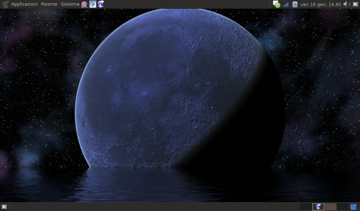 Il mio desktop sull'eeepc
